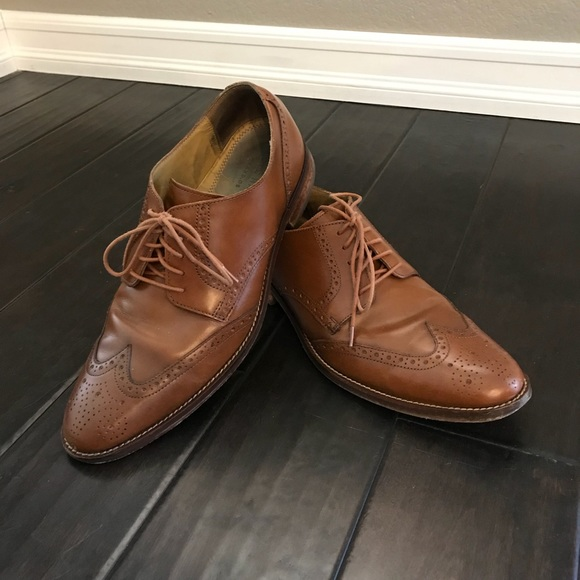 Mens Cole Haan Grand Os Wingtip Oxford